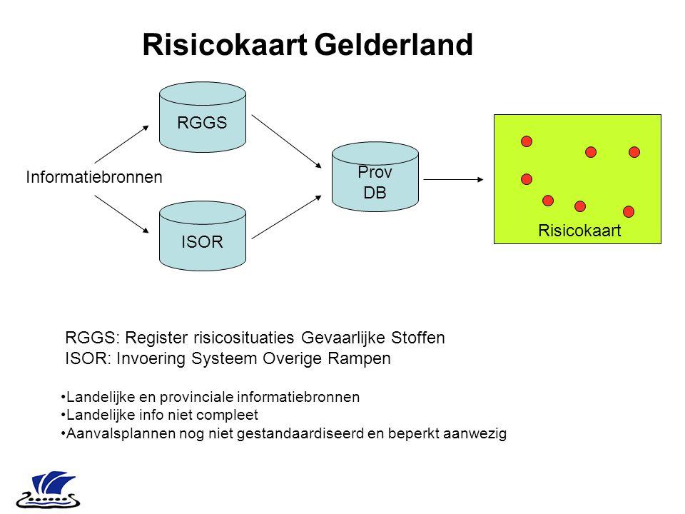 Risicokaart Gelderland