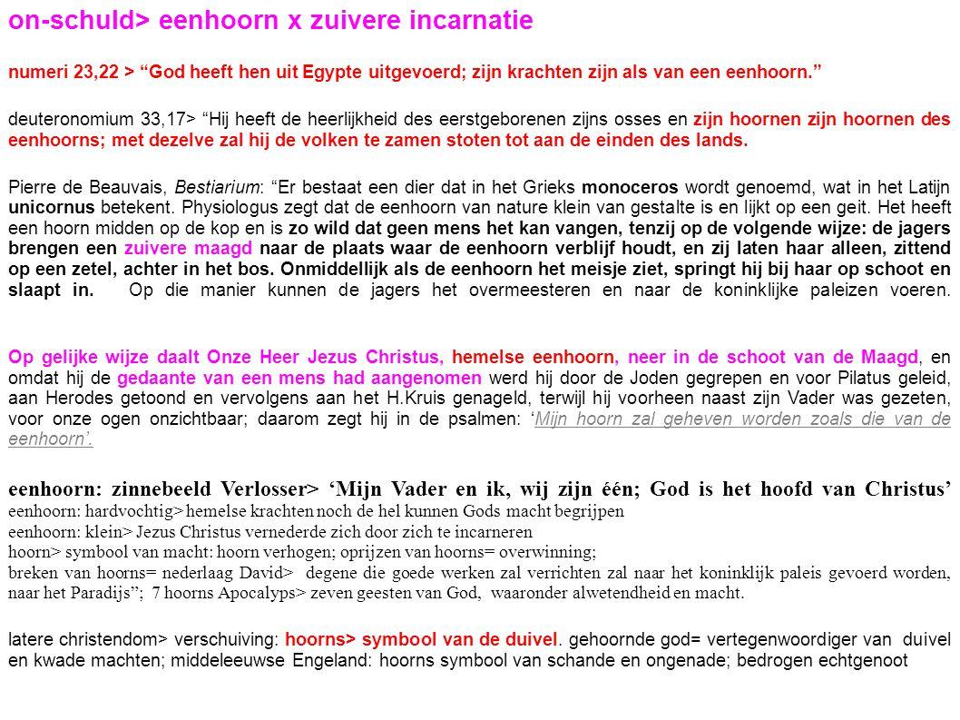 on-schuld> eenhoorn x zuivere incarnatie
