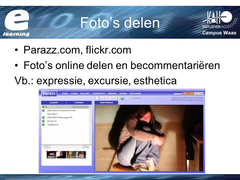 Foto's delen Parazz.com, flickr.com