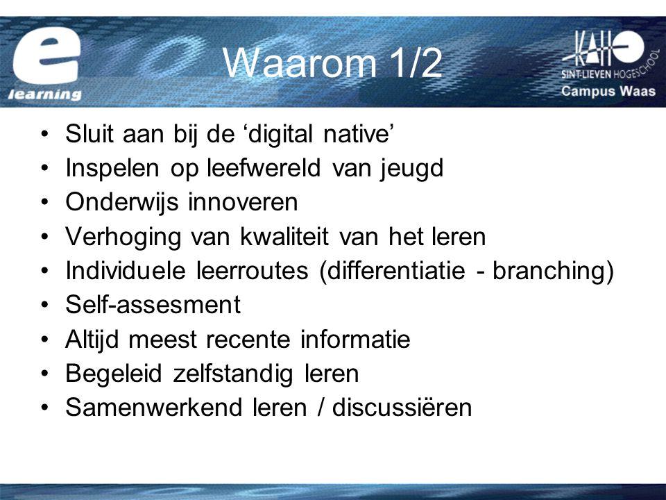 Waarom 1/2 Sluit aan bij de 'digital native'