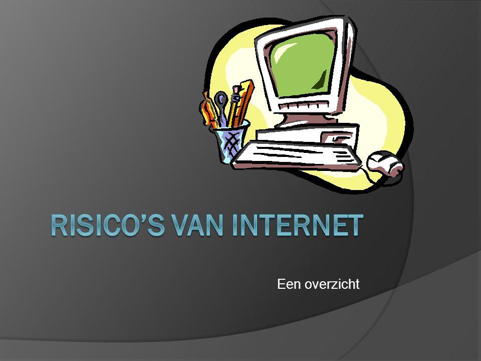 Een overzicht Risico's van internet
