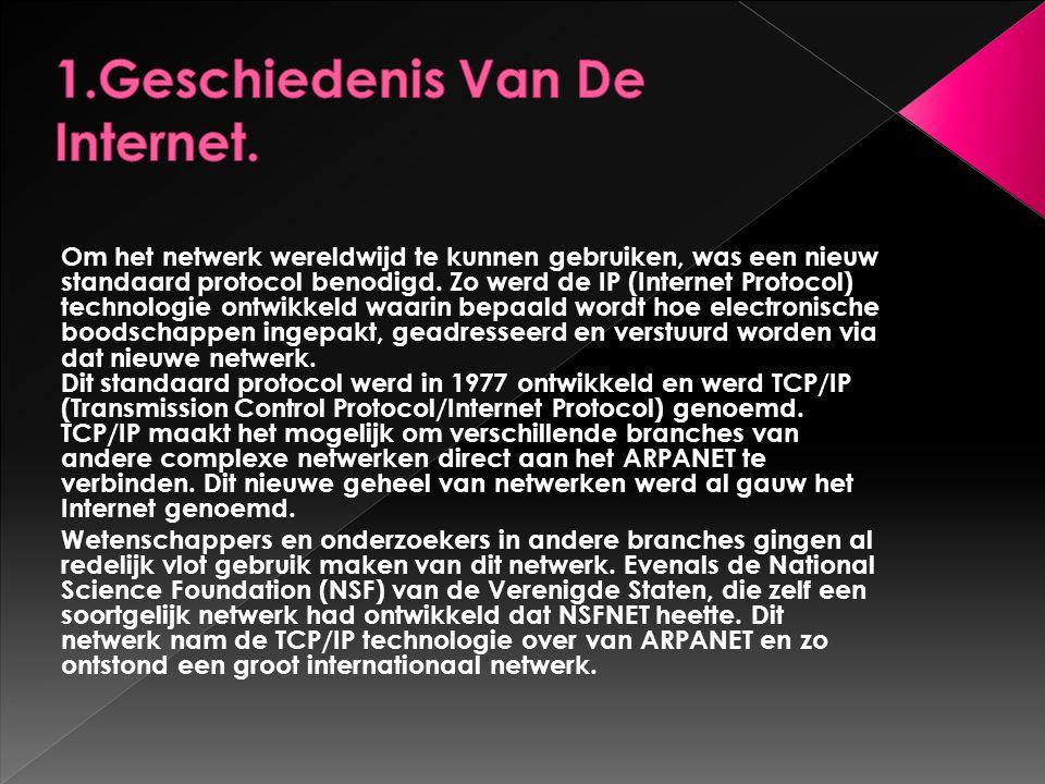 1.Geschiedenis Van De Internet.