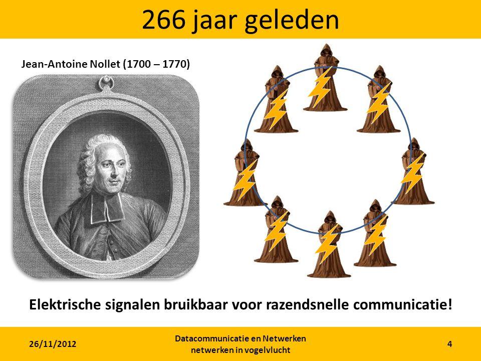 266 jaar geleden Jean-Antoine Nollet (1700 – 1770) 200 monniken geëlektrocuteerd. VOOR DE WETENSCHAP!