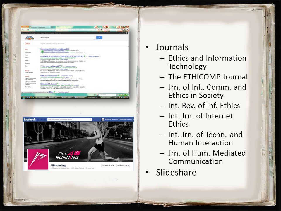 Journals Slideshare Ethics and Information Technology