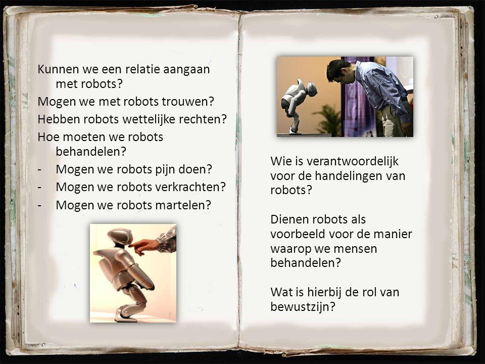 Kunnen we een relatie aangaan met robots