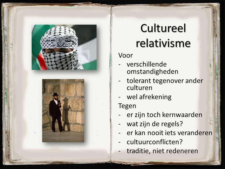 Cultureel relativisme