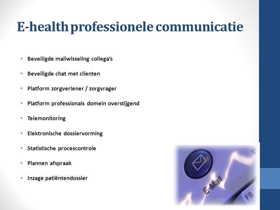 E-health professionele communicatie