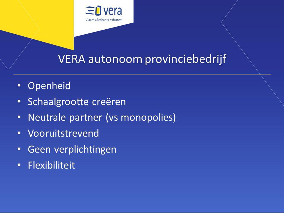 VERA autonoom provinciebedrijf