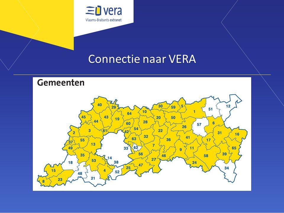 Connectie naar VERA
