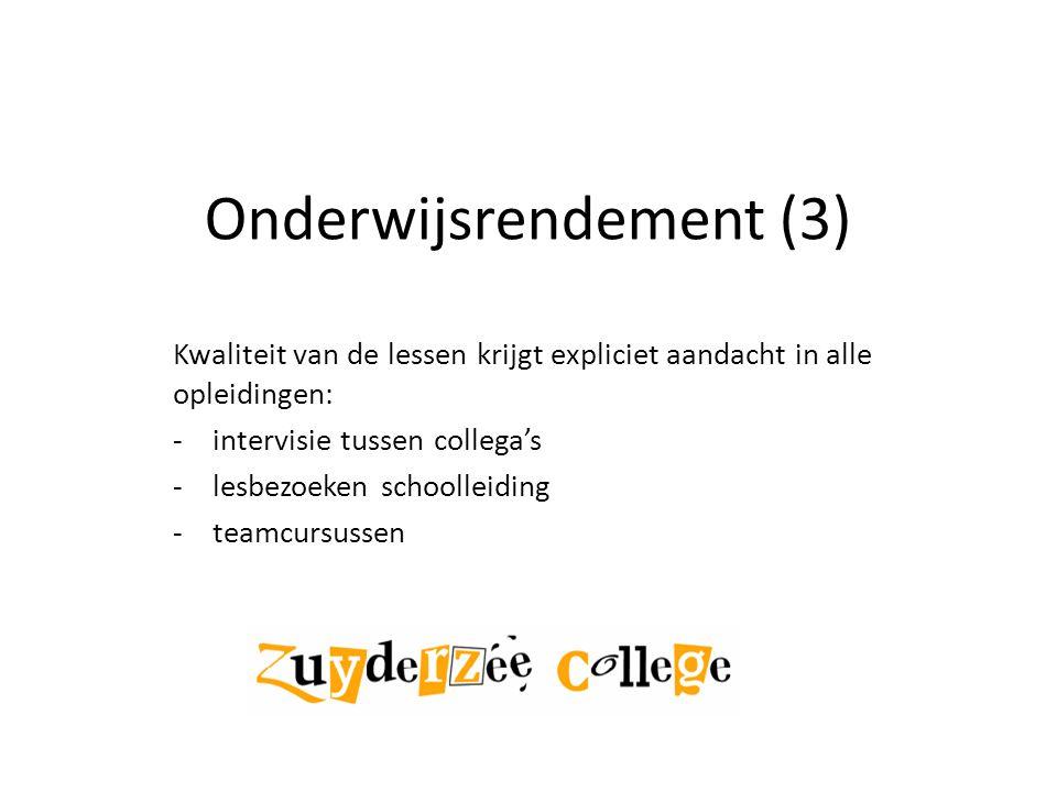 Onderwijsrendement (3)