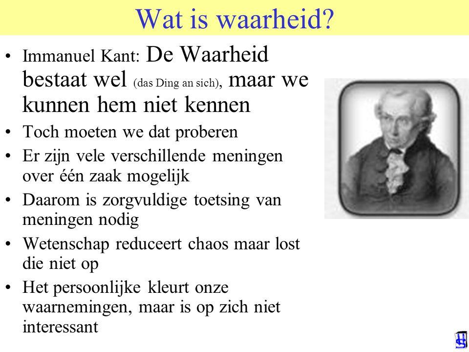 Wat is waarheid HvdSande RuG. © 2006 JP van de Sande RuG.