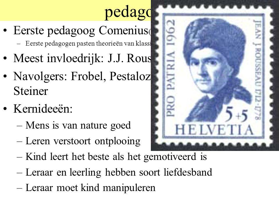 pedagogie Eerste pedagoog Comenius(1592-1670)