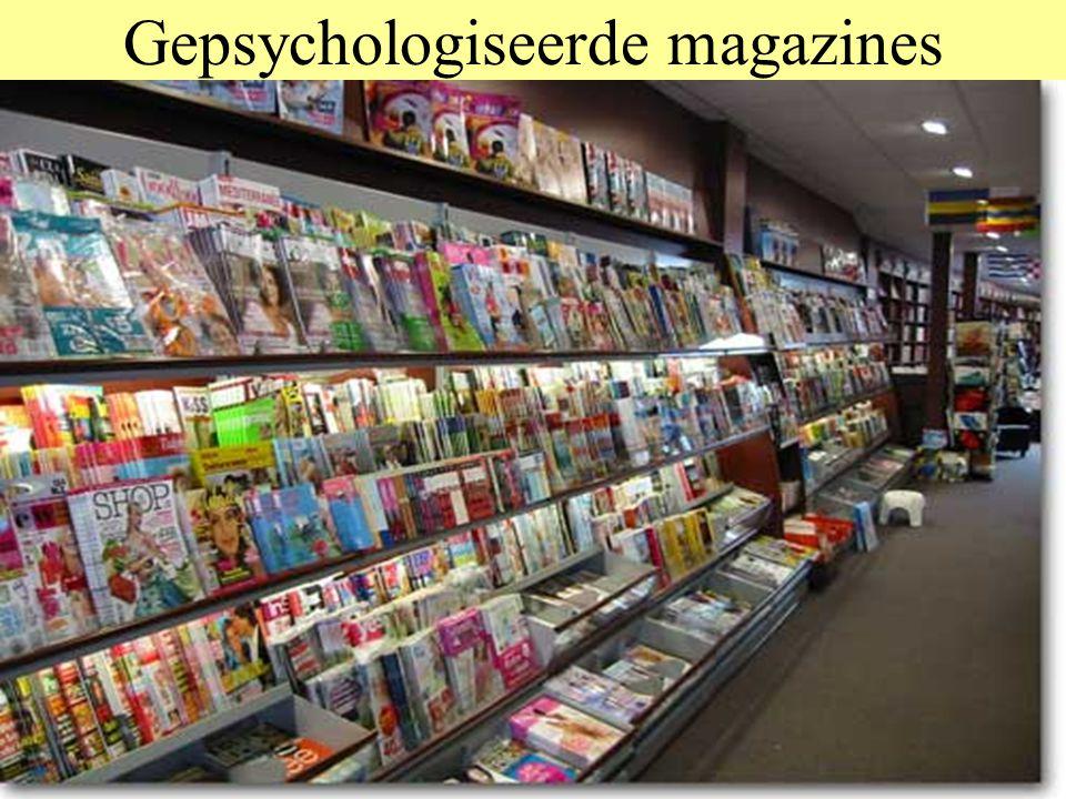 Gepsychologiseerde magazines