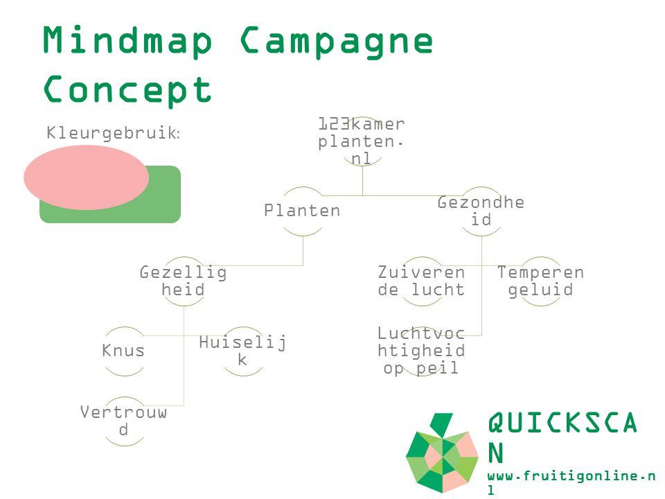 Mindmap Campagne Concept