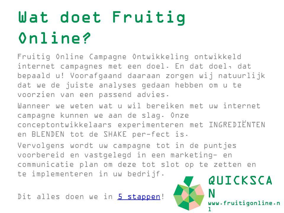 Wat doet Fruitig Online