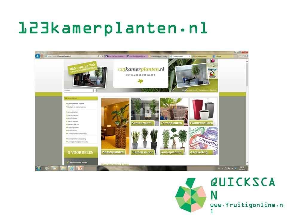 123kamerplanten.nl QUICKSCAN www.fruitigonline.nl