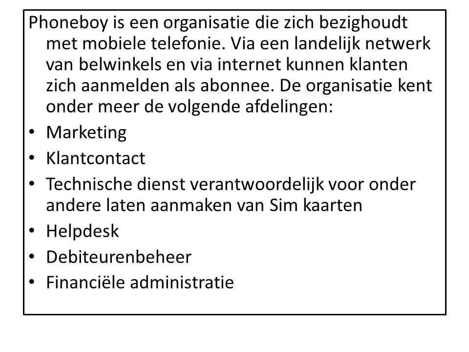 Phoneboy is een organisatie die zich bezighoudt met mobiele telefonie