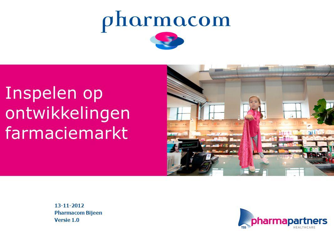 Inspelen op ontwikkelingen farmaciemarkt