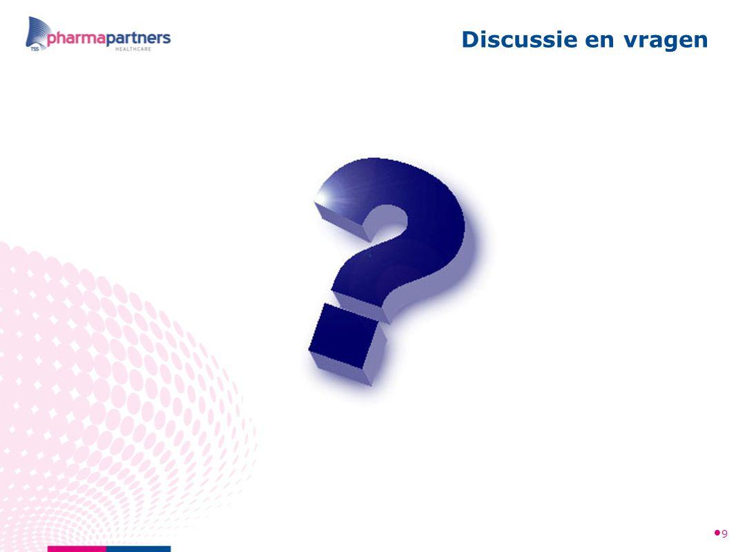 Discussie en vragen 9