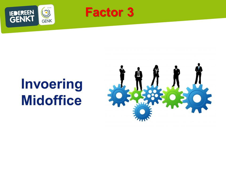 Factor 3 Invoering Midoffice