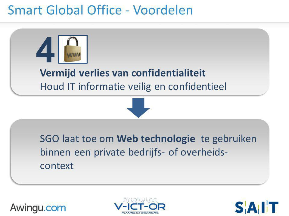 Smart Global Office - Voordelen