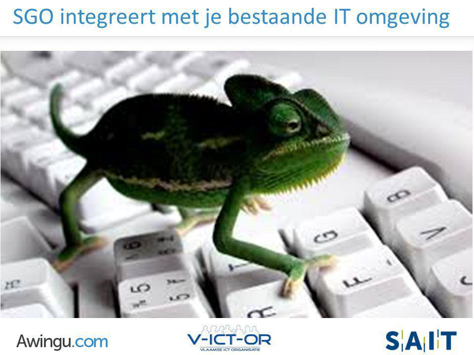 SGO integreert met je bestaande IT omgeving