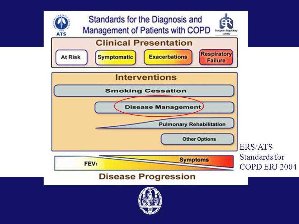 ERS/ATS Standards for COPD ERJ 2004