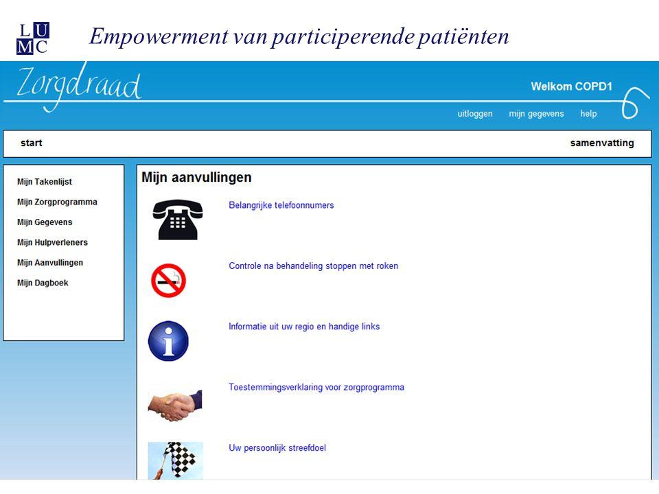 Empowerment van participerende patiënten