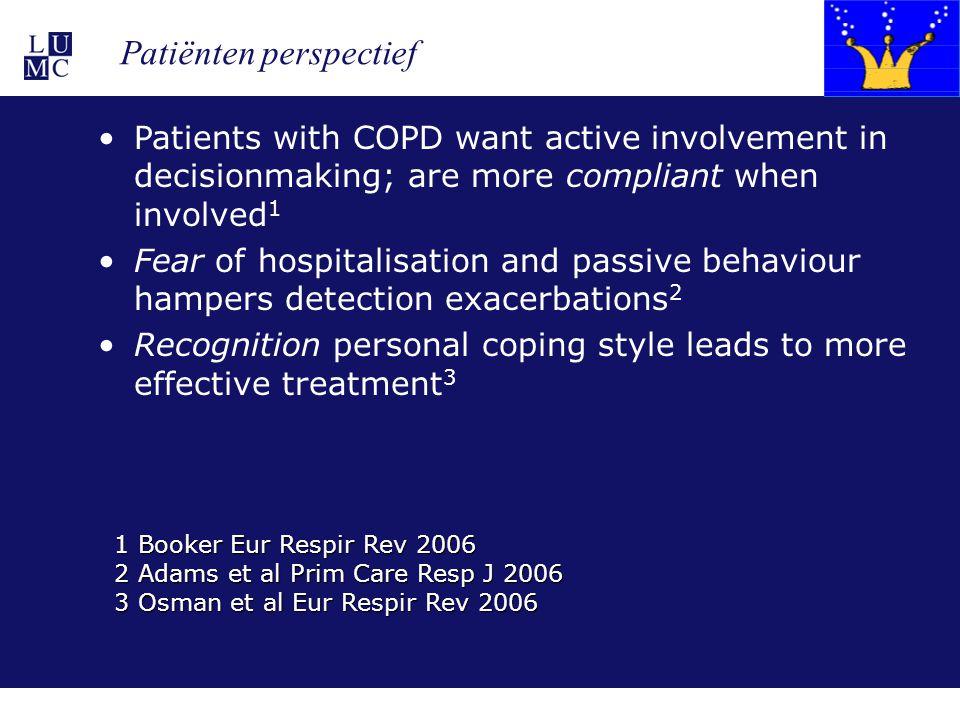 Patiënten perspectief