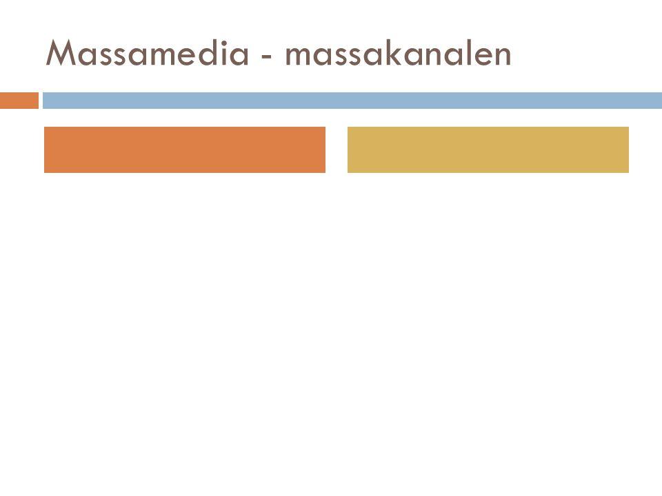 Massamedia - massakanalen
