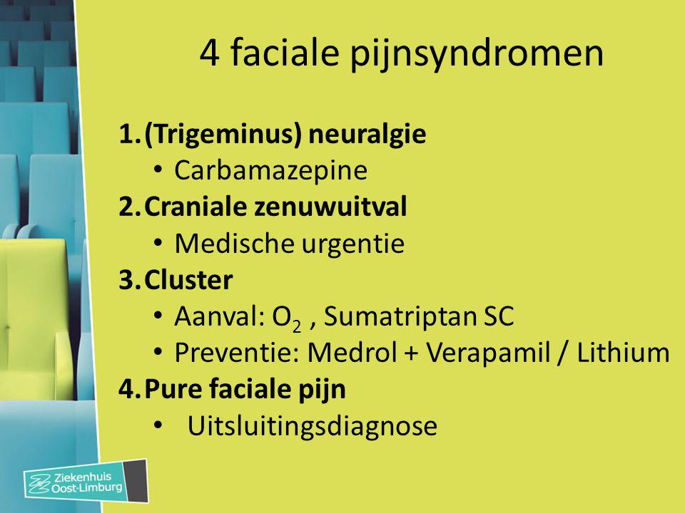 4 faciale pijnsyndromen