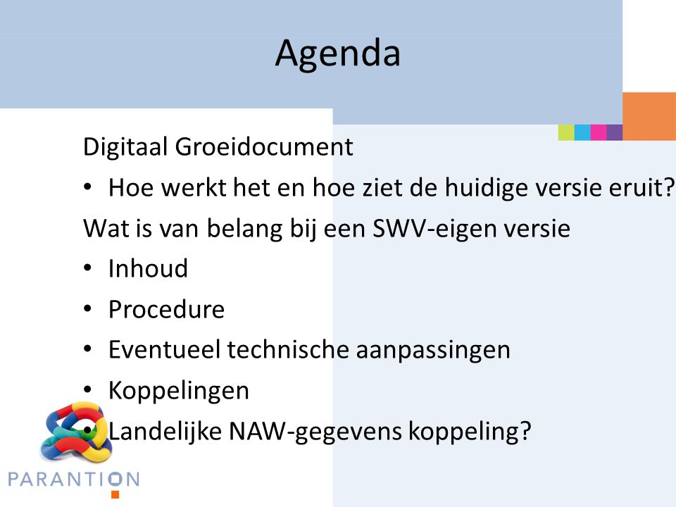 Agenda Digitaal Groeidocument