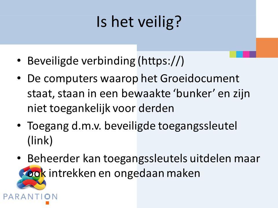 Is het veilig Beveiligde verbinding (https://)