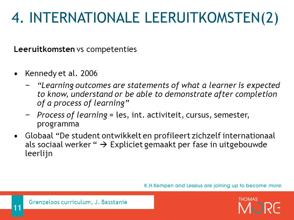 4. Internationale leeruitkomsten(2)