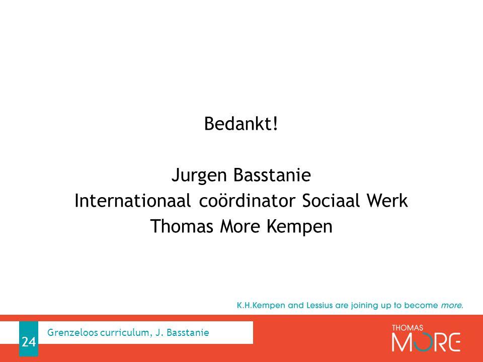 Internationaal coördinator Sociaal Werk