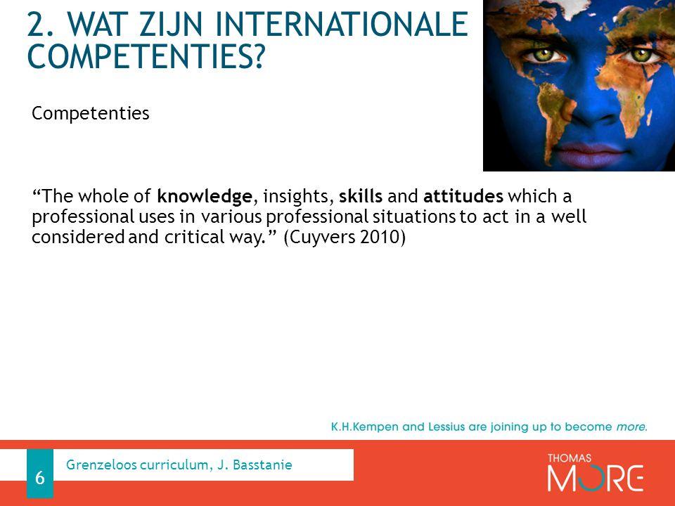 2. Wat zijn internationale competenties