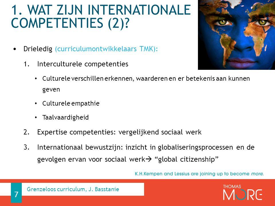 1. Wat zijn internationale competenties (2)