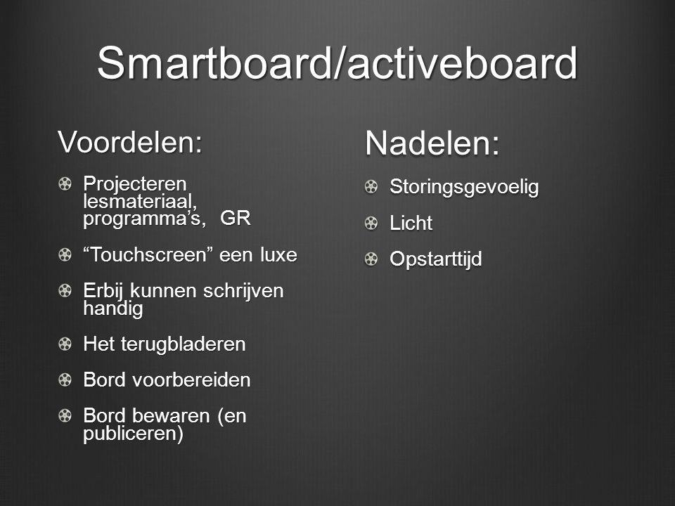 Smartboard/activeboard