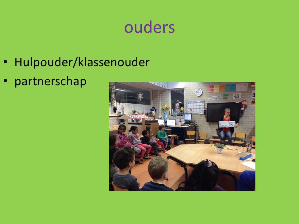 ouders Hulpouder/klassenouder partnerschap