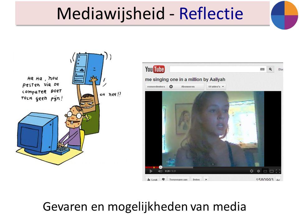 Mediawijsheid - Reflectie