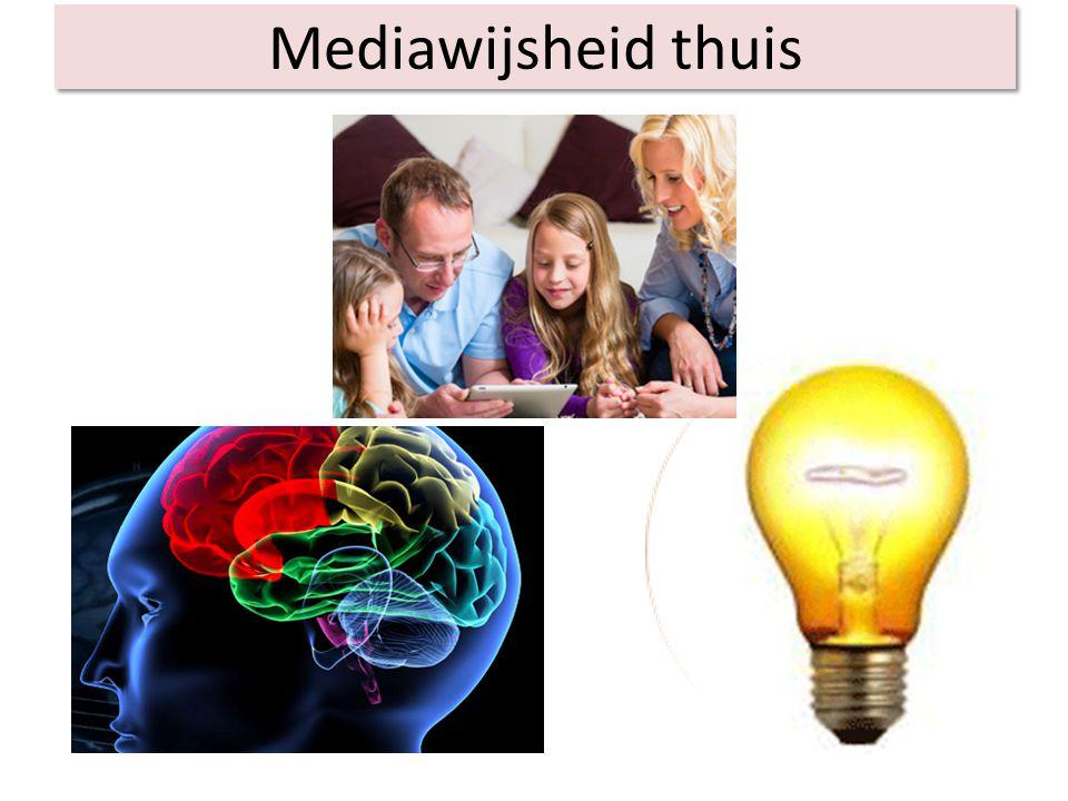 Mediawijsheid thuis We kunnen gebruik maken van ons gezond verstand en van de gouden tips van de kinderen.
