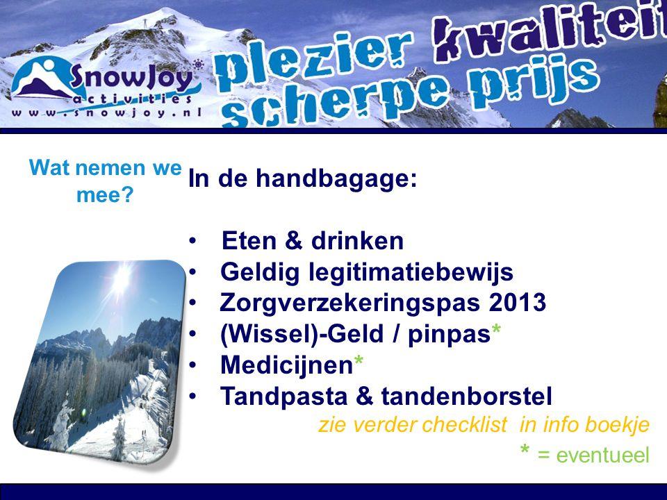 Geldig legitimatiebewijs Zorgverzekeringspas 2013