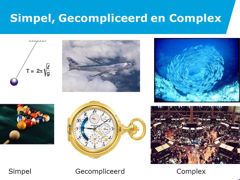 Oorsprong Complexe Systemen