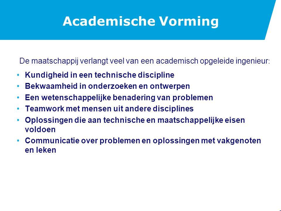 De Minor Academische Vorming vindt plaats gedurende de hele opleiding.