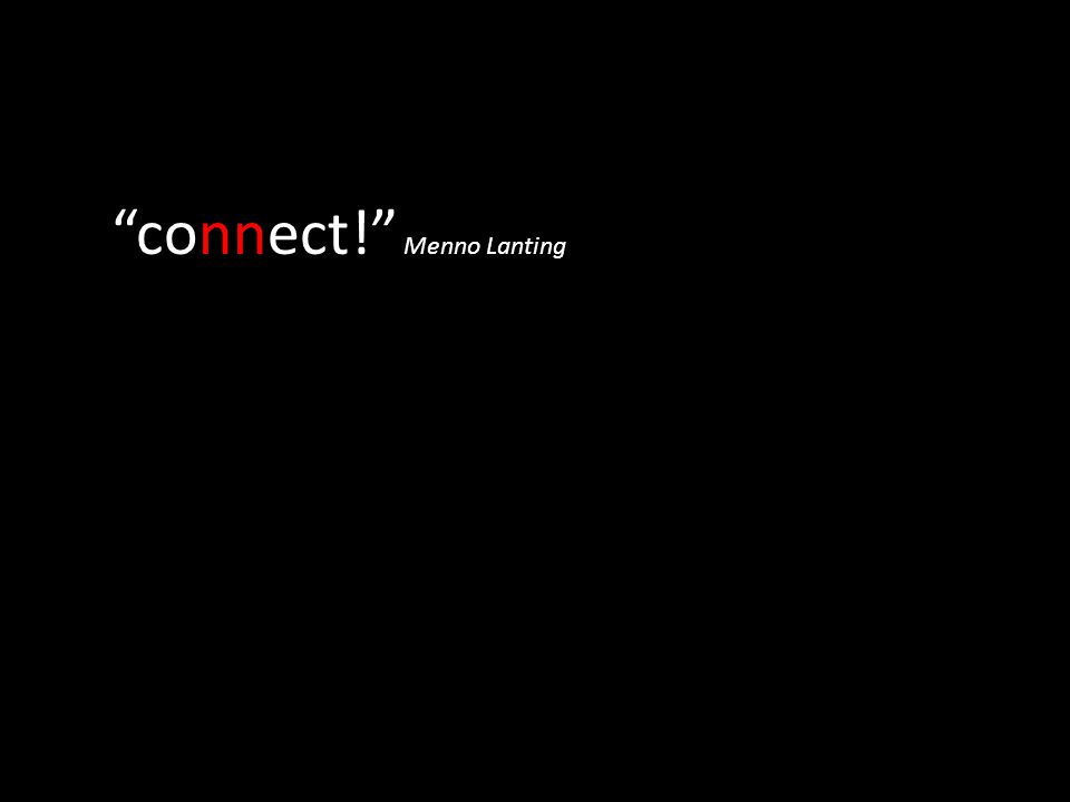 connect! Menno Lanting