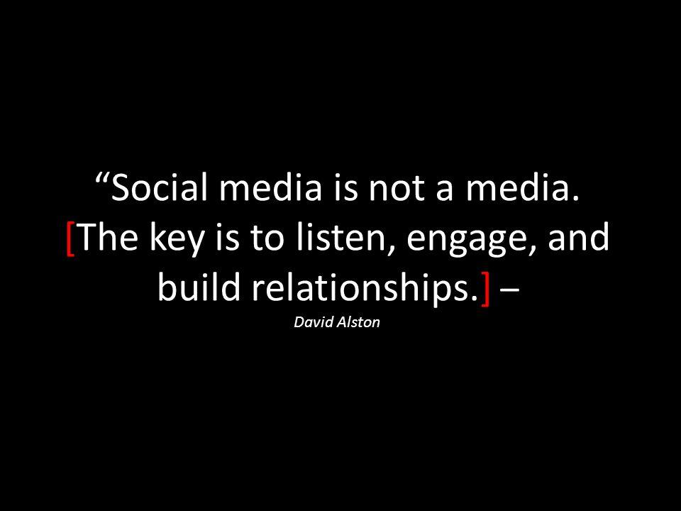 Social media is not a media