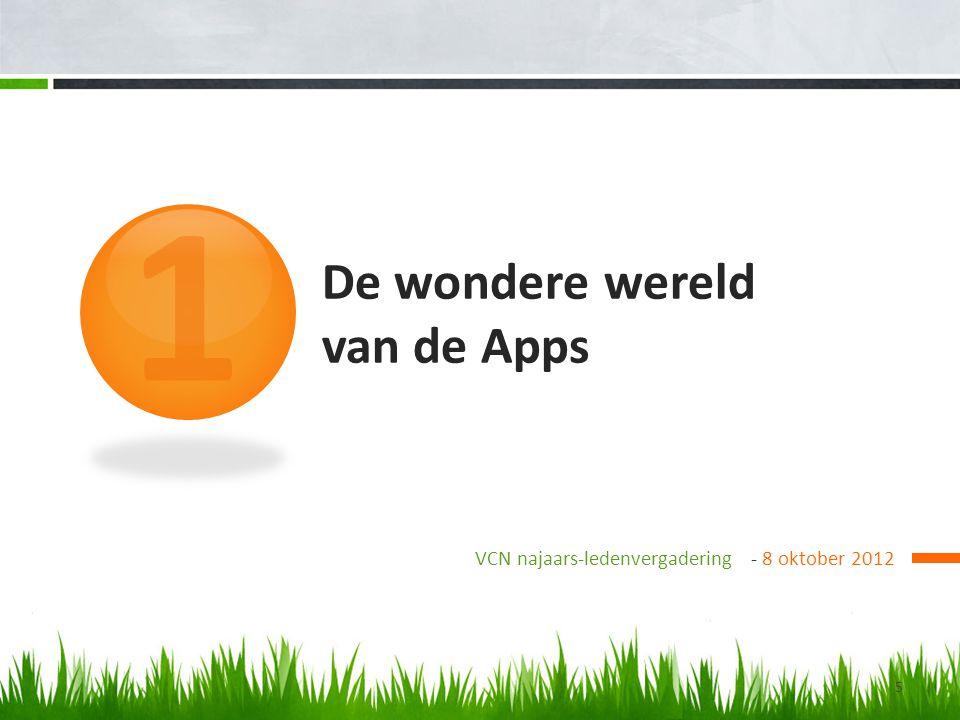 De wondere wereld van de Apps
