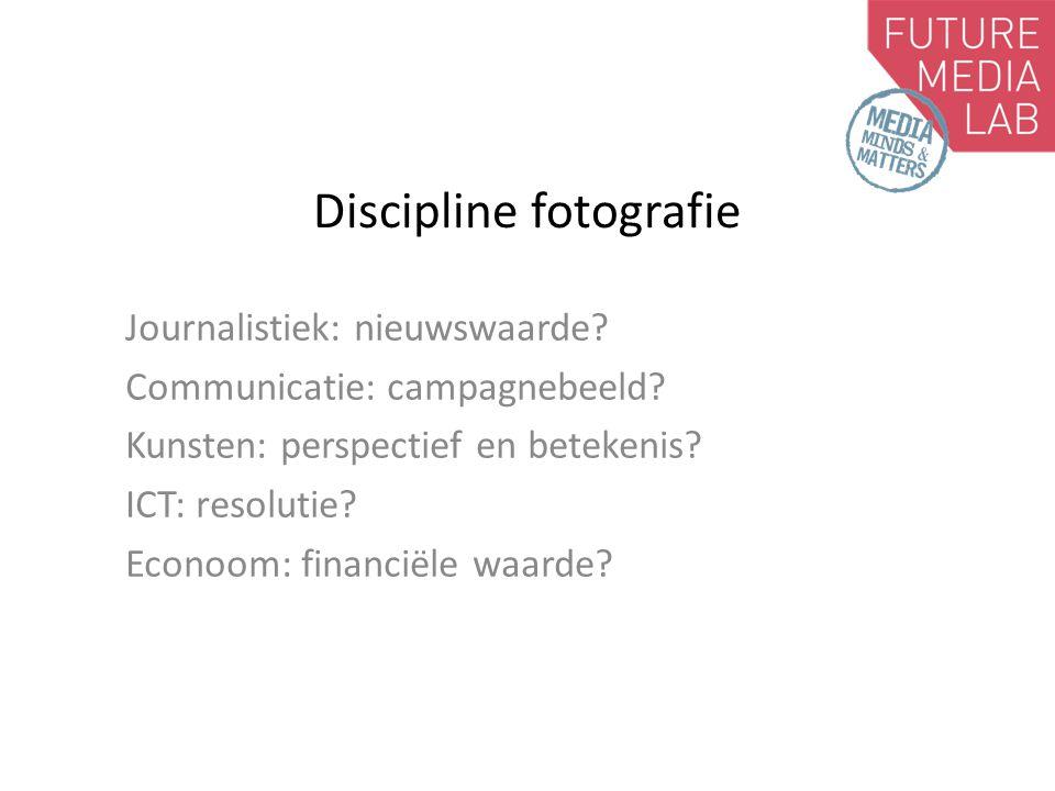 Discipline fotografie