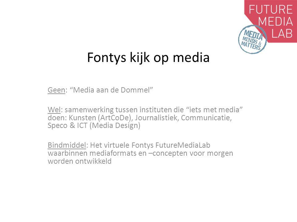 Fontys kijk op media Geen: Media aan de Dommel