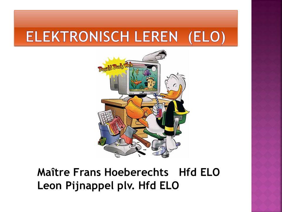 Elektronisch leren (ELO)